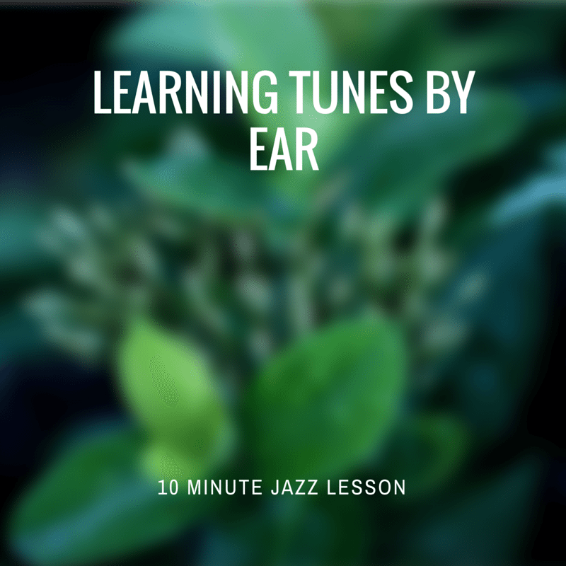 Episode 018: Learning Tunes By Ear